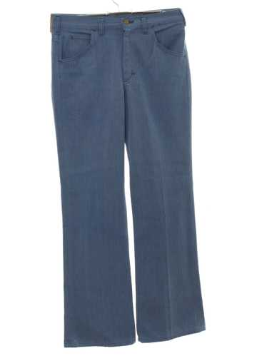 1970's Lee Riders Mens Mod Flared Jeans-cut Pnats