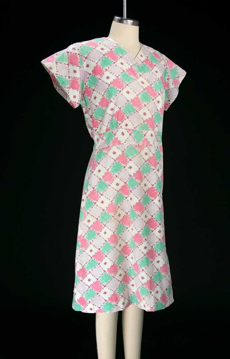 Vintage 1930's Feedsack Dress - image 5