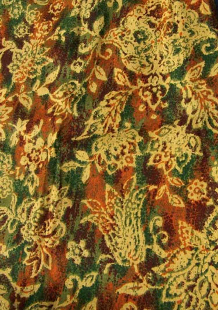 Cotton twill pencil skirt - image 6