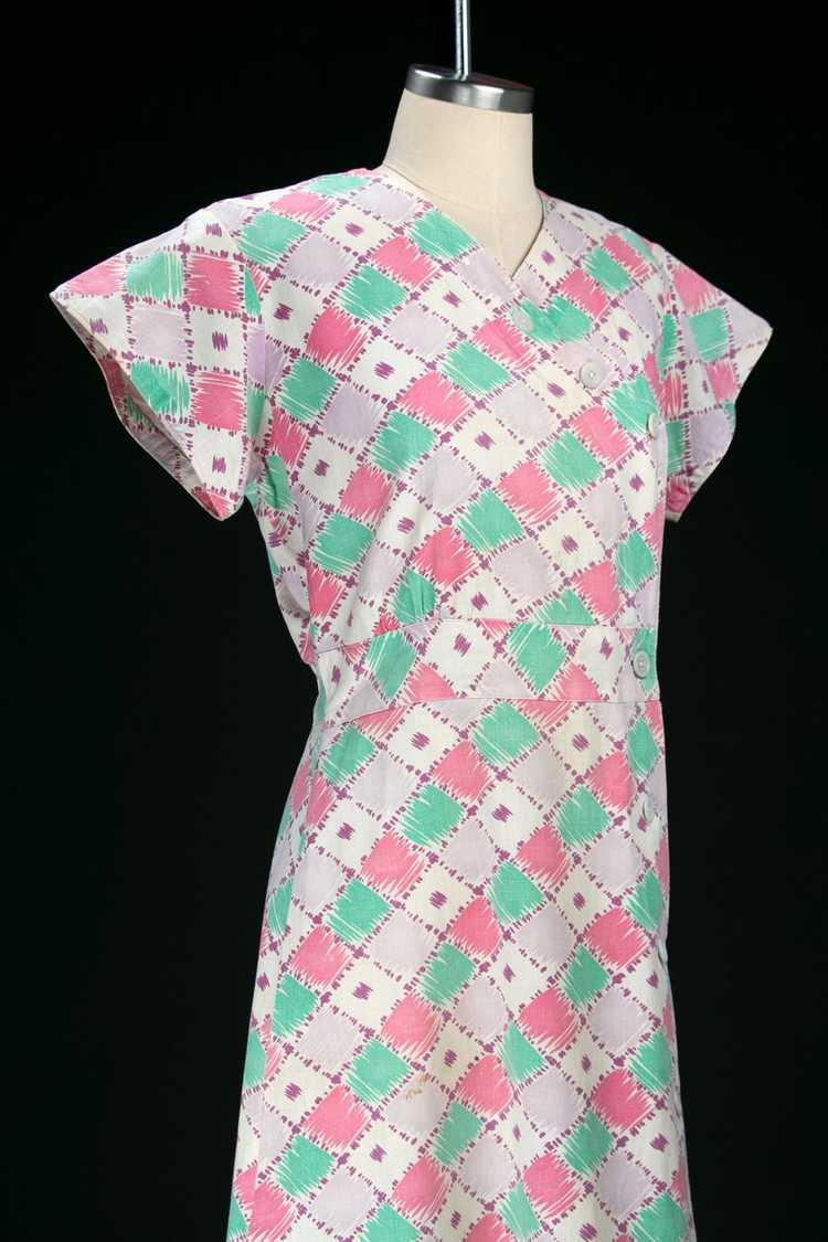 Vintage 1930's Feedsack Dress - image 6