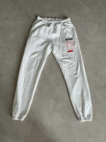 Heron Preston Heron Preston NASA Slim Sweatpants - image 1