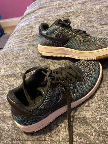 Nike × Us Air Force nike air force 1 flyknit