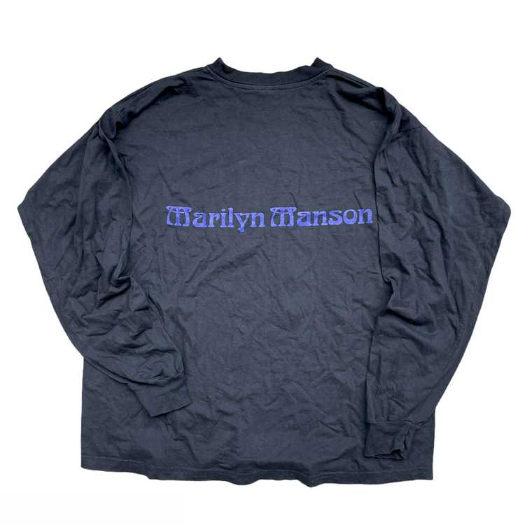 Vintage Marilyn Manson Long Sleeve T-shirt - image 2