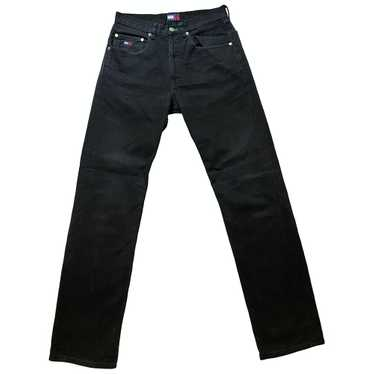 Tommy Jeans Black Cotton Jeans for Women 30 US