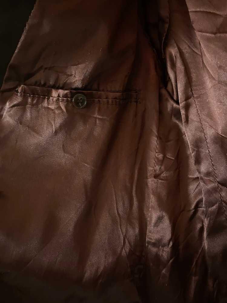 Celine × Vintage VINTAGE Celine Suede Leather Bla… - image 9