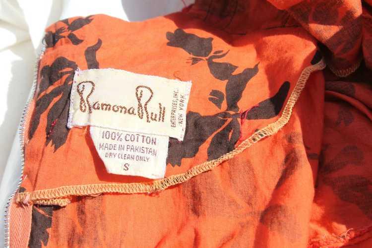 *SALE* Vintage Ramona Rull Maxi Dress - image 5