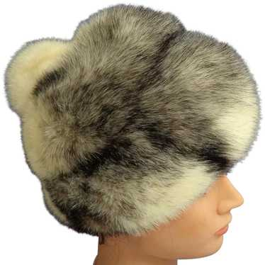 LILLY DACHE Debs Mink Fur Hat.  Absolutely Gorgeou