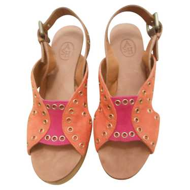 Ash Sandals Block Heel
