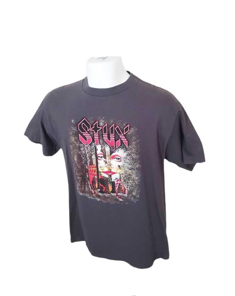 Band Tees × Rock T Shirt × Rock Tees VTG Styx Ban… - image 11