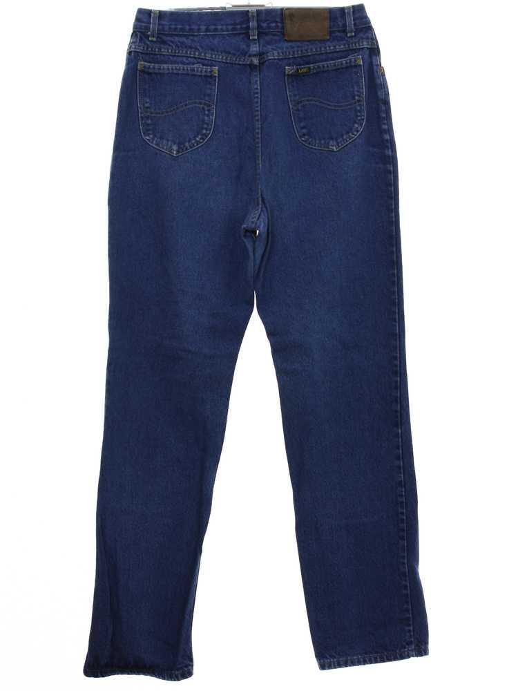 1980's Lee Womens Lee Denim Jeans Pants - image 3