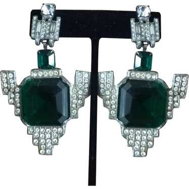Art Deco Drop Dead Gorgeous Earrings