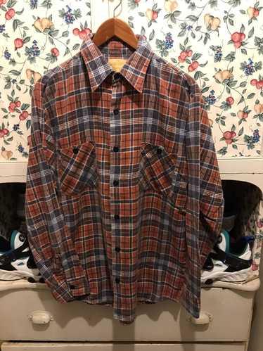 Sears × Vintage Vintage 80s Sears Flannel Shirt