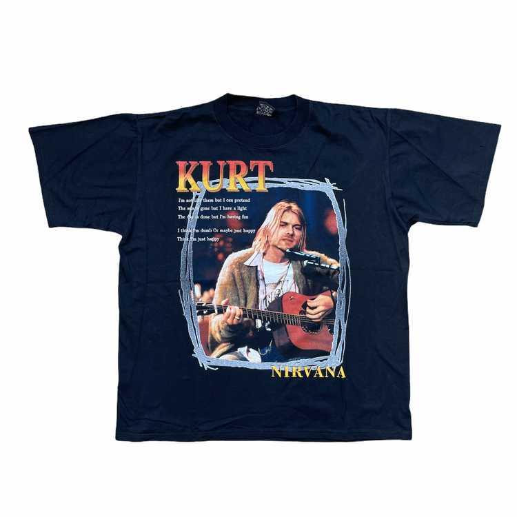 Vintage 2000s Kurt Cobain Nirvana T-shirt - image 1