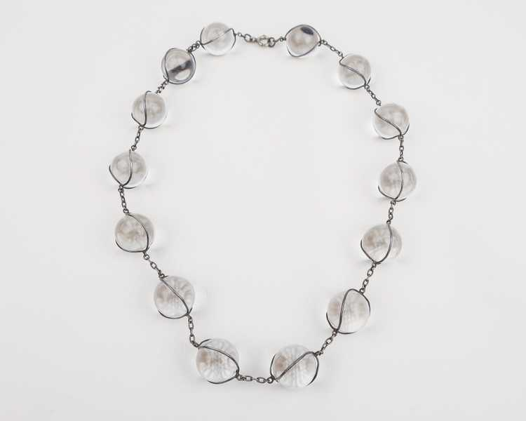 Art Deco Pools of Light Necklace - image 3