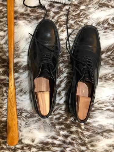 Churchs Churchs black leather cap toe