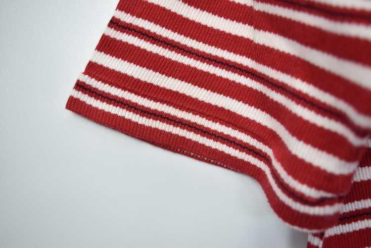 Issey Miyake ISSEY MIYAKE 90s old stripe polo shi… - image 12