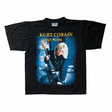 Vintage Nirvana Kurt Cobain T-shirt - image 1