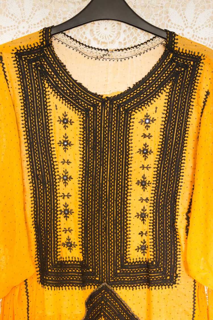 Polka Dot Balochi Dress - image 3