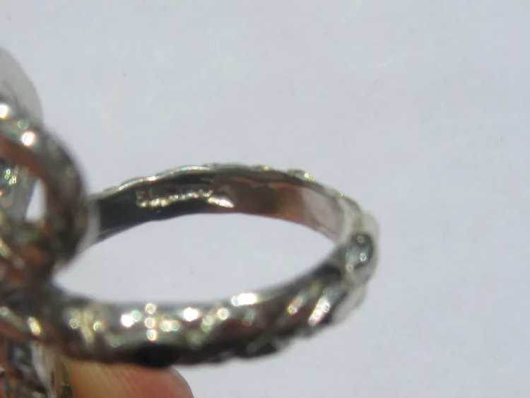 Sterling Silver Ruby Snake Ring - image 7