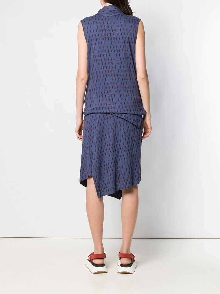 Vivienne Westwood Pre-Owned knitted wrap-front dr… - image 4
