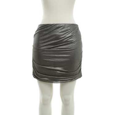 Iro Mini skirt in a metallic look