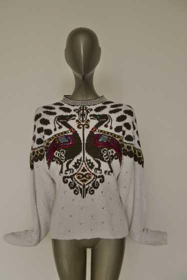 Yamamoto Kansai sweater. Avantgarde design.