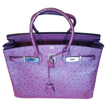 Hermès Birkin Bag 35 Leather in Violet