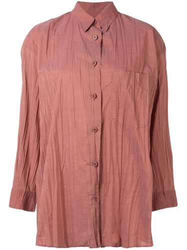 Issey Miyake Pre-Owned lightly pleated shirt - Ora