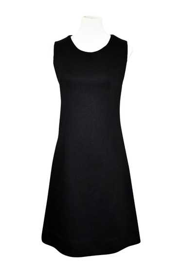 Twiggy Black Shift Dress