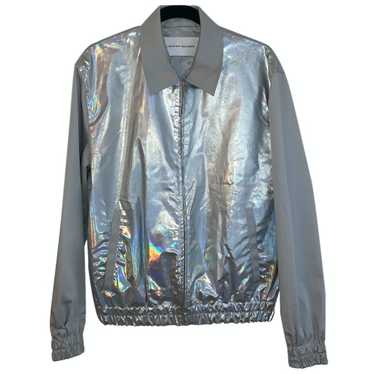 Jonathan Saunders Grey Cotton Leather jacket for W