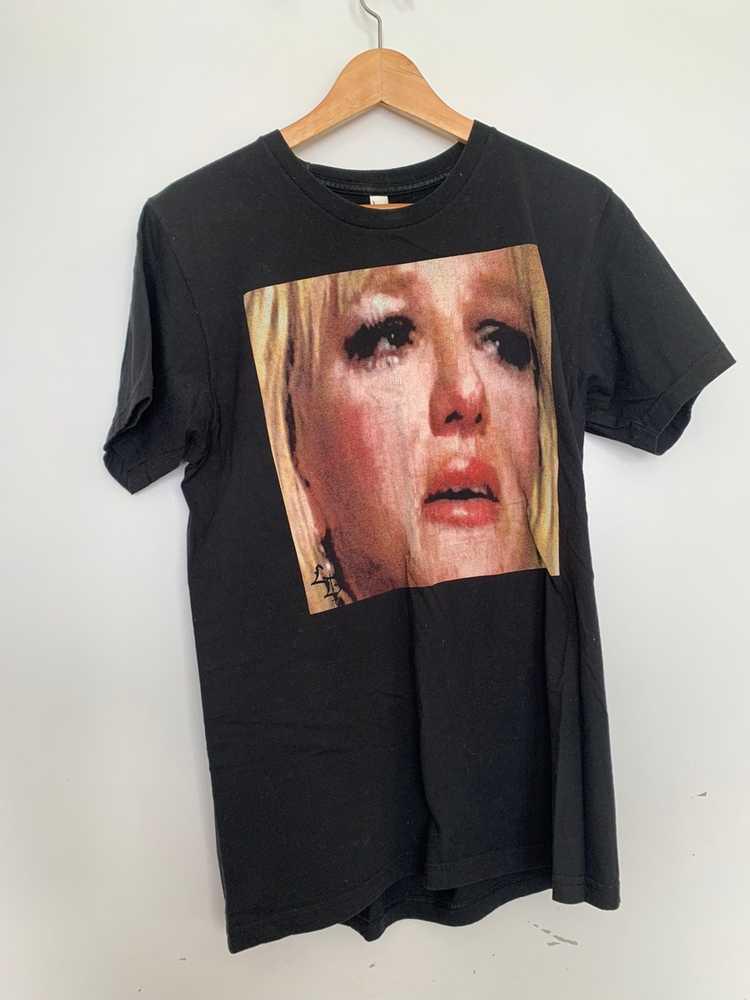 Designer Britney Spears Crying T-shirt by Liverdi… - image 1
