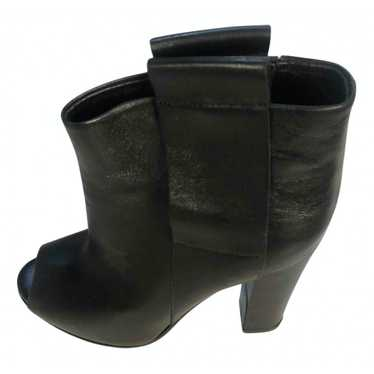 Golden Goose Black Leather Ankle boots for Women 3