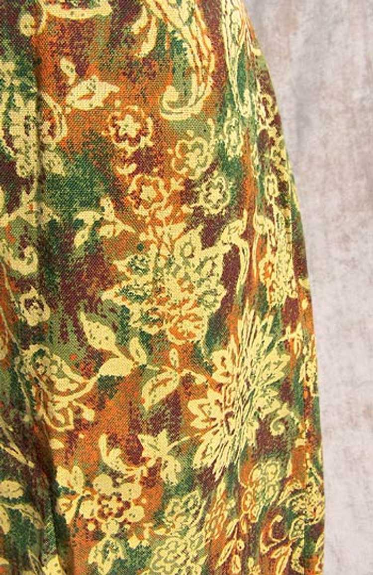 Cotton twill pencil skirt - image 2