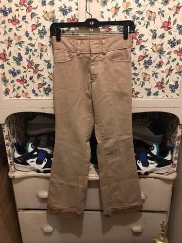 Sears × Vintage Vintage 70s Sears Flair Pants