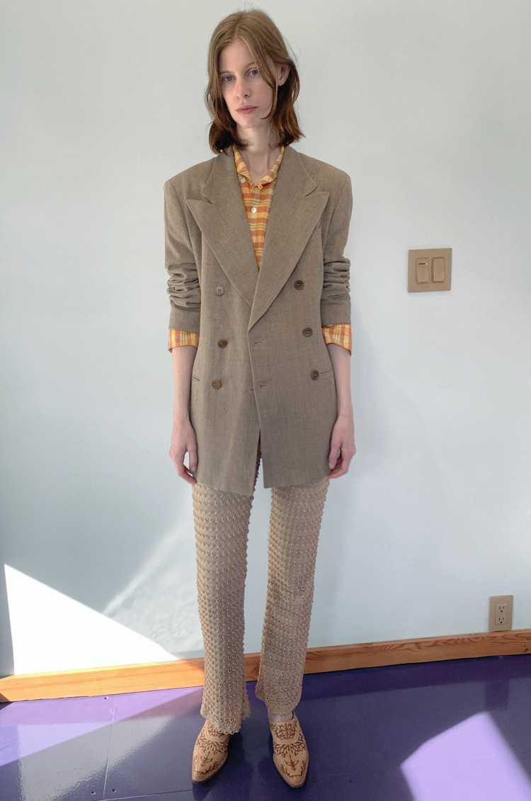 Knit Textured Pants sz M - image 1