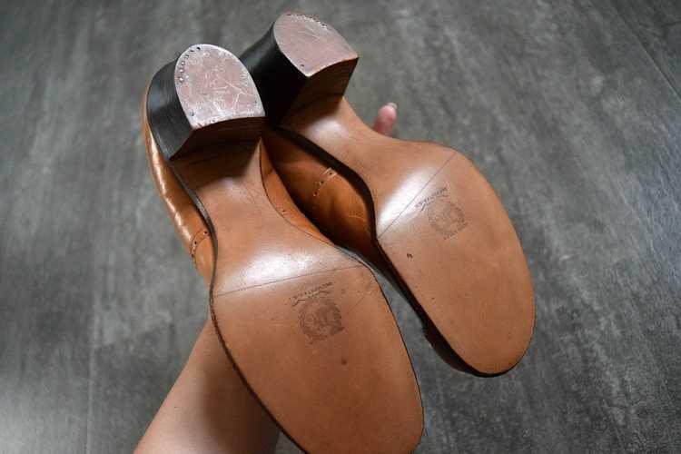 Edwardian shoes . antique leather shoes - image 5