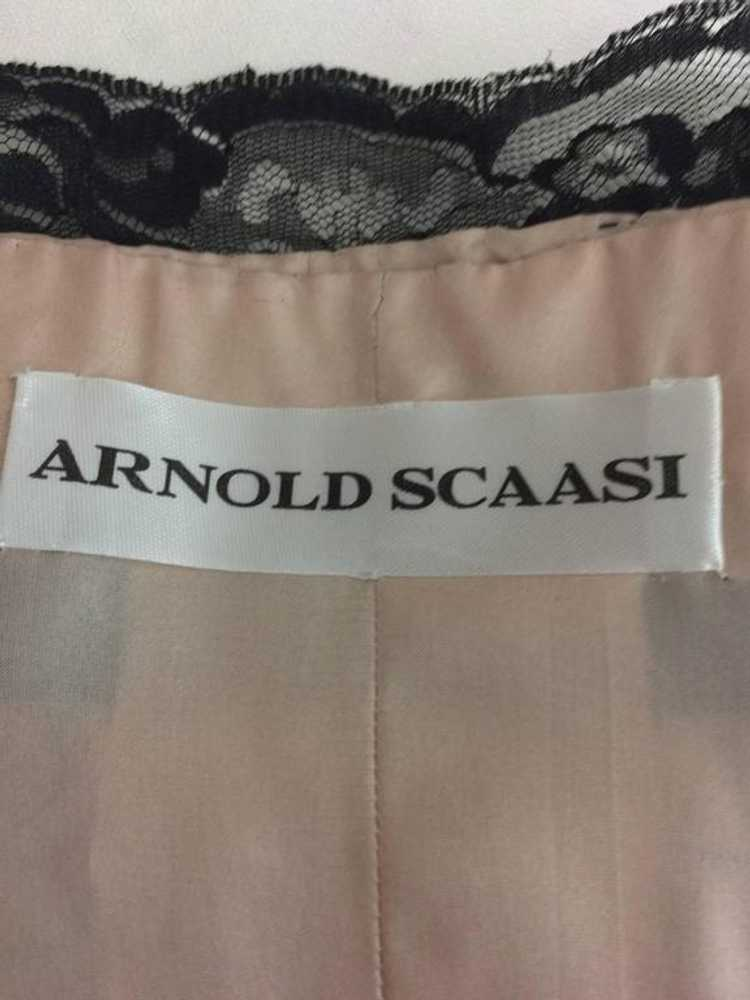 Arnold Scaasi Black Lace and Tulle Strapless Cock… - image 9