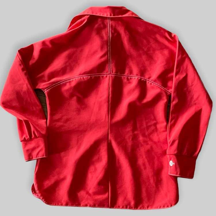70's Polyester Shirt/Jacket - image 3