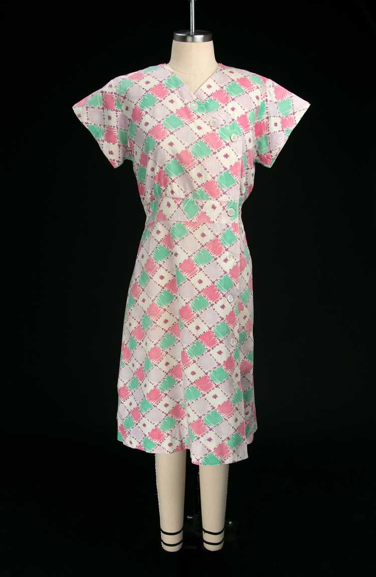 Vintage 1930's Feedsack Dress - image 4