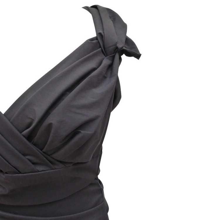 Talbot Runhof Dress with Ruffles - image 4
