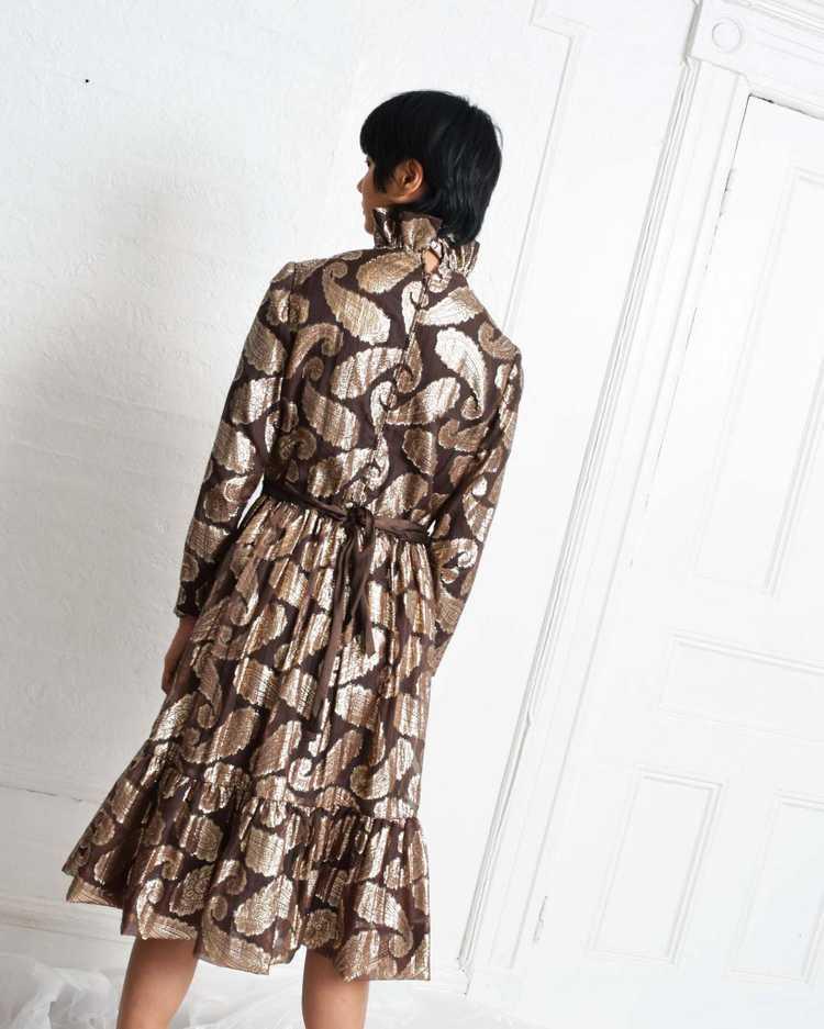 Vintage Ceil Chapman Paisley Dress - image 4