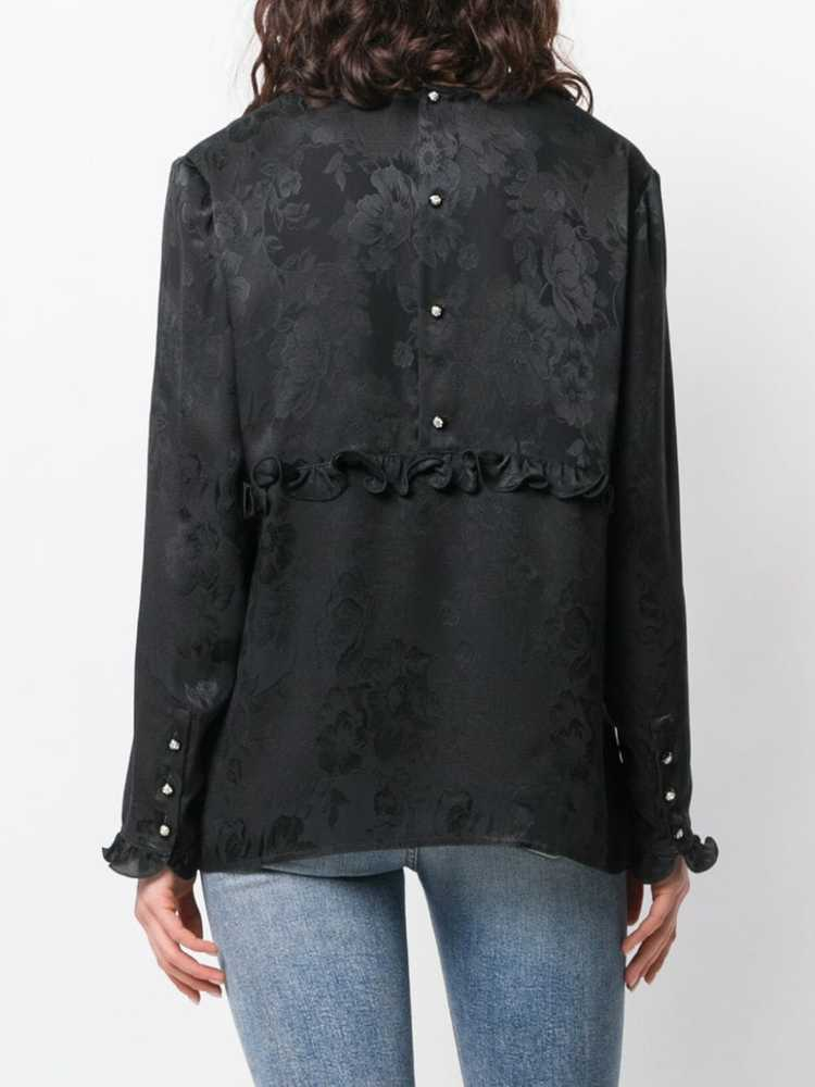 Valentino Pre-Owned 1980's rose print blouse - Bl… - image 4