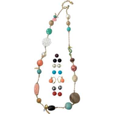 Joan Rivers Exotic, Tropical Necklace and Intercha