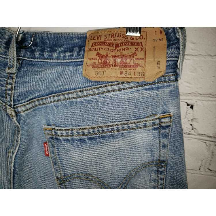 Levi's Vintage Clothing 501 High Rise Distressed … - image 4