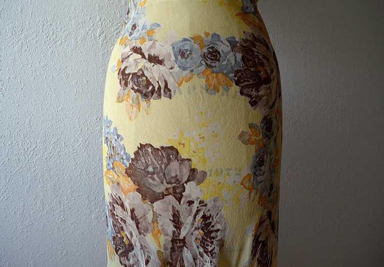 1930s floral chiffon dress . vintage 30s gown - image 6