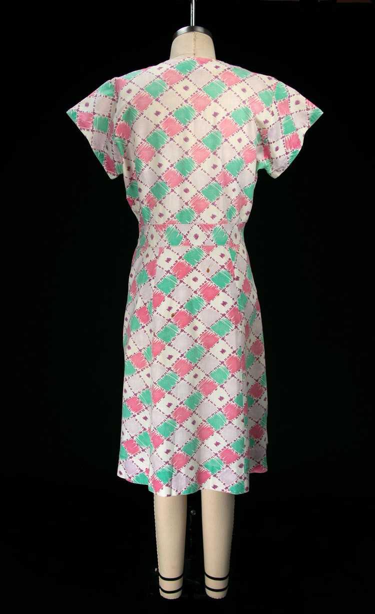 Vintage 1930's Feedsack Dress - image 9