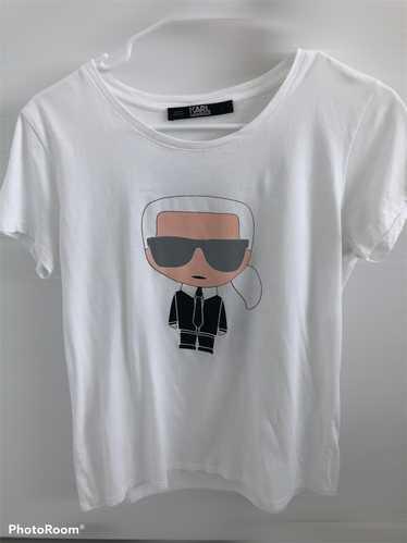 Karl Lagerfeld Karl Lagerfeld white Tee