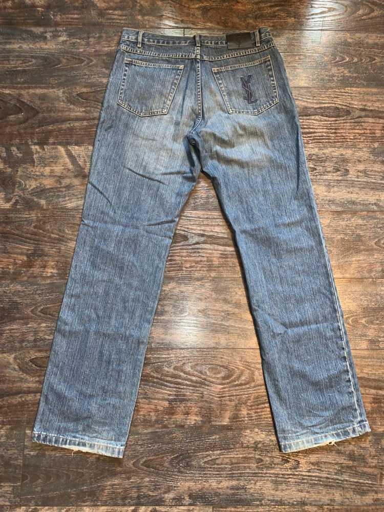 Yves Saint Laurent Yves Saint Laurent Jeans vinta… - image 3