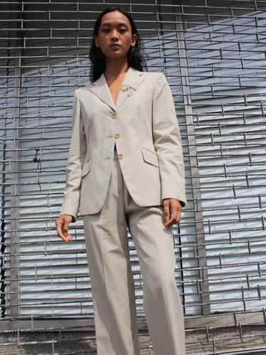 Italian Khaki Suit