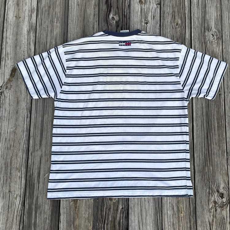 Tommy Hilfiger Vintage Tommy Hilfiger Striped Shi… - image 4